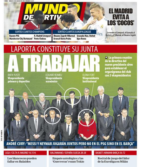 روزنامه موندو| به سمت کار