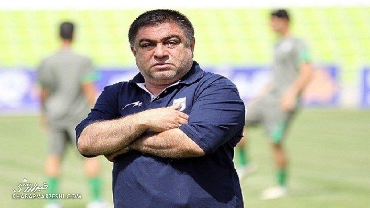 حمله پیروانی به رئیس فدراسیون فوتبال/ قدم هایت لرزان است!