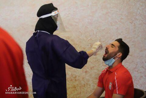 تست کرونای ملیپوشان ایران (3 فروردین 1400)