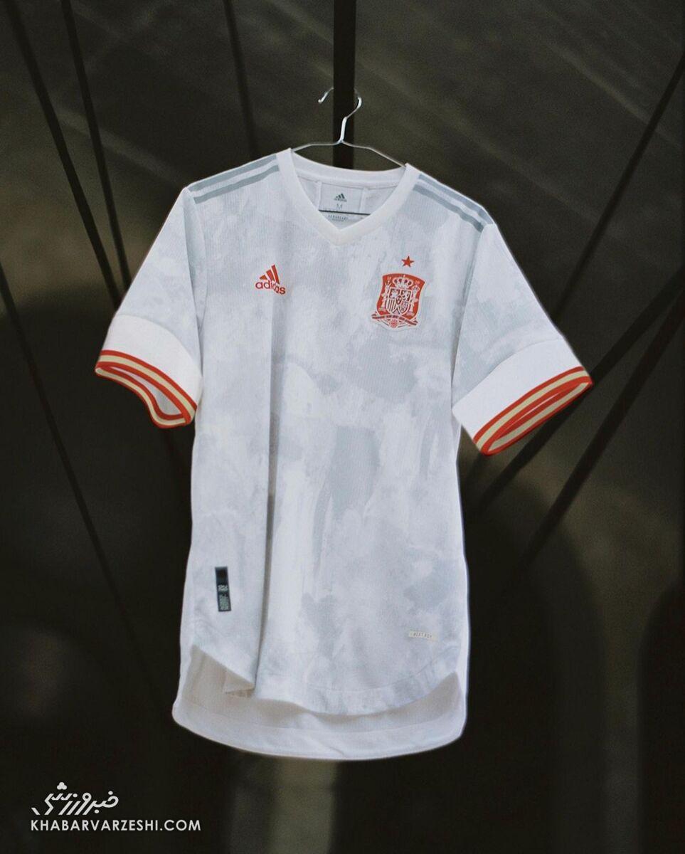 پیراهن دوم اسپانیا