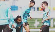 ویدیو| تمرین آمادگی تیم ملی پرتغال برای دیدار با آذربایجان