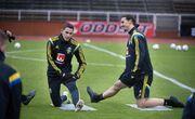 ویدیو| اولین تمرین زلاتان با تیم ملی سوئد پس از ۵ سال