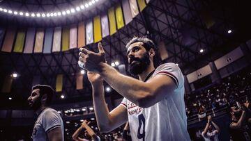کاپیتان به اردوی تیم ملی والیبال پیوست