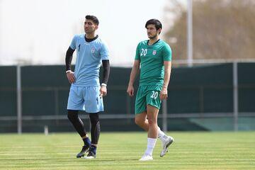 دروازهبان تیم ملی ایران لو داد/ راز چرت زدن یک مربی در ورزشگاه فاش شد