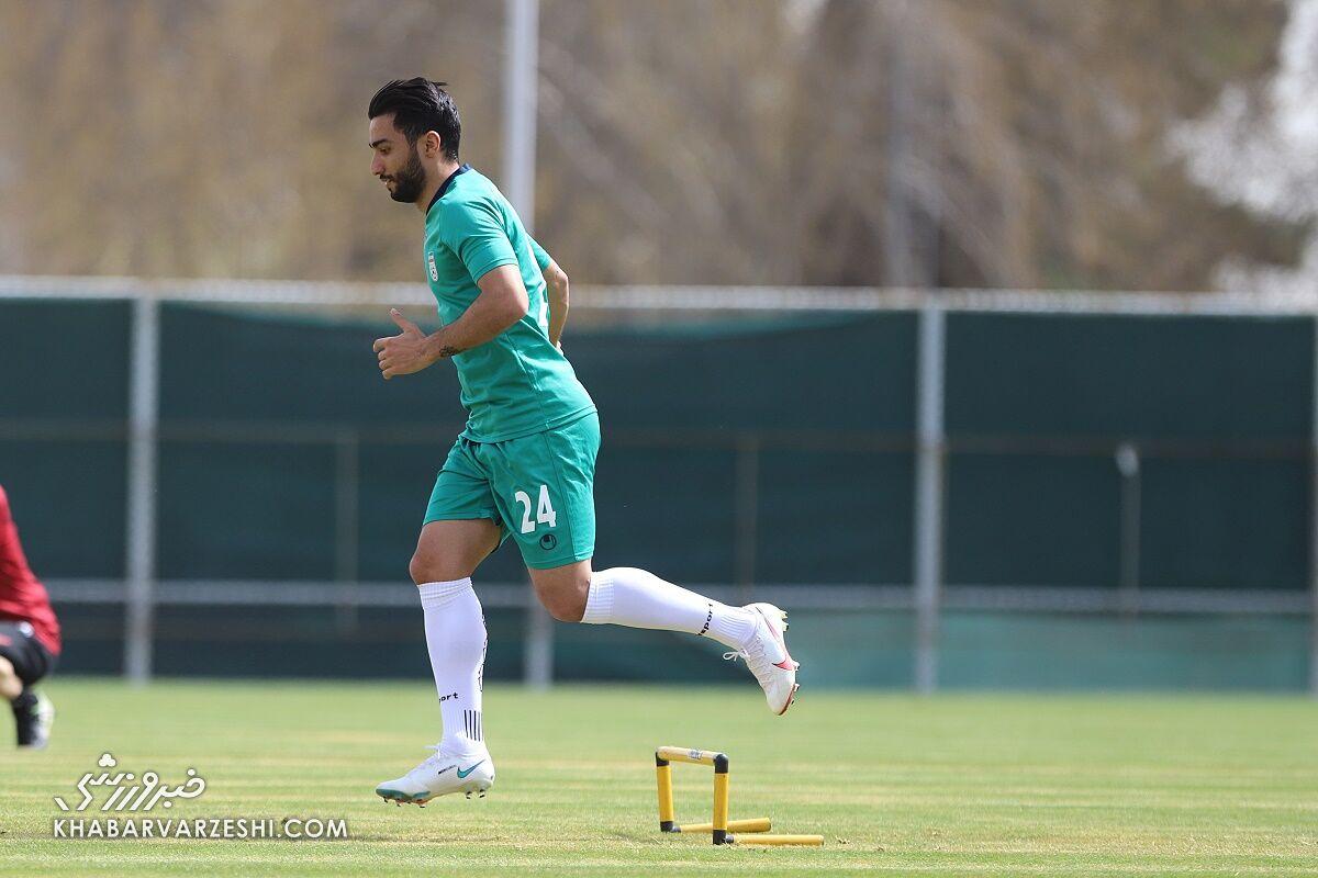 سیامک نعمتی در ترکیب اصلی تیم ملی مقابل سوریه!