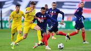 ویدیو| خلاصه بازی فرانسه ۱-۱ اوکراین
