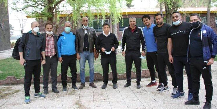 تصاویر دیدار قلعه نویی با گزینه سرمربیگری استقلال
