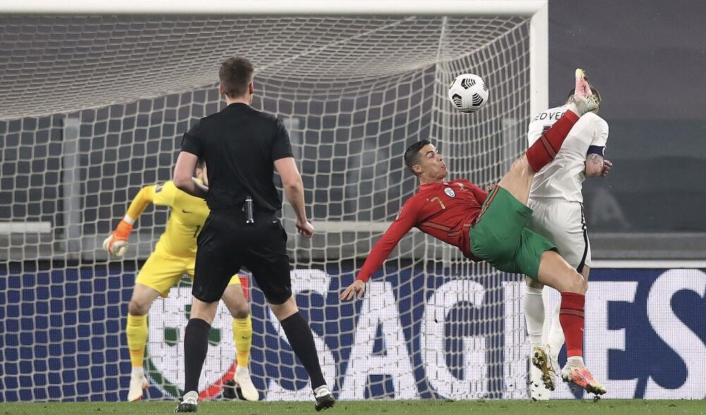ویدیو  خلاصه بازی پرتغال ۱-۰ آذربایجان