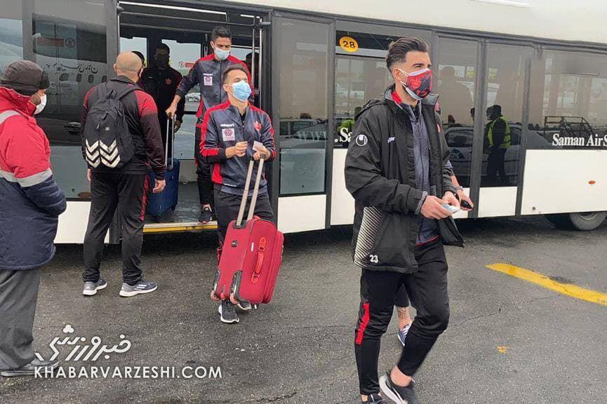 عکس| جریمه سومین بازیکن پرسپولیس به دلیل رعایت نکردن قوانین کرونایی