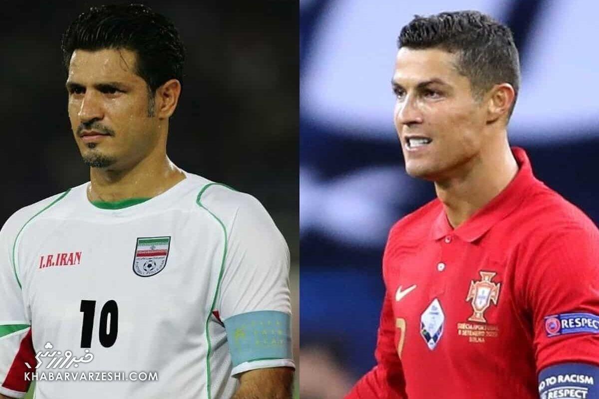 باقری و دایی با مسی، رونالدو و زیکو هم تیمی شدند/ گلزنترین تیم جهان را بشناسید
