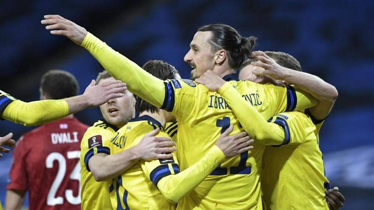ویدیو| خلاصه بازی سوئد ۱-۰ گرجستان