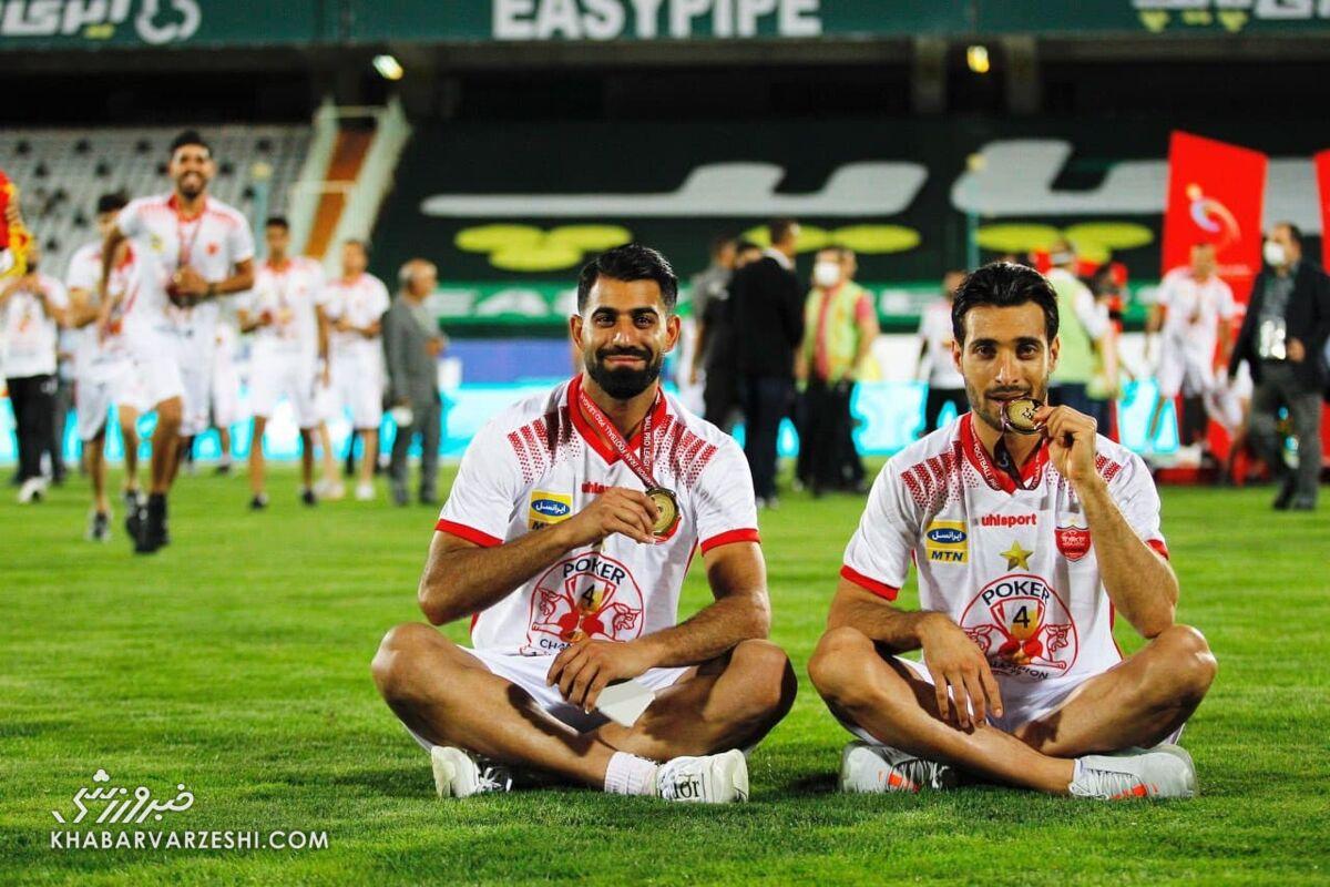 توافق پنهانی دومین مدافع پرسپولیس با باشگاه قطری/ راه شجاع ادامه دارد!