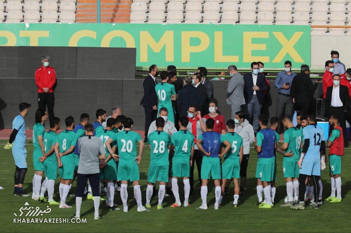 زمان حضور تیم ملی فوتبال در کیش مشخص شد