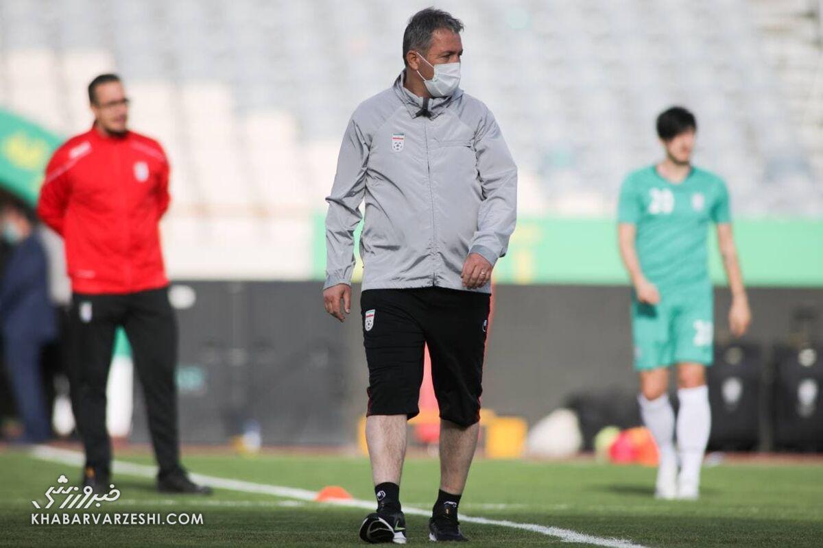 پاگشای اسکوچیچ در غیاب هواداران تیم ملی