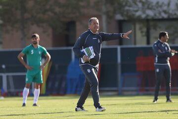 عکس| رضایت دراگان اسکوچیچ از محل تمرین تیم ملی در کیش