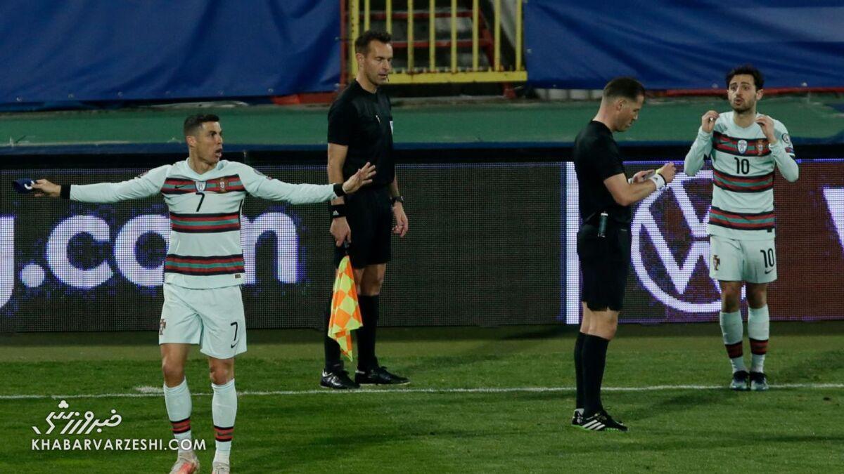 حذف از جام جهانی؛ عاقبت اشتباه داوری در پذیرش گل درست رونالدو