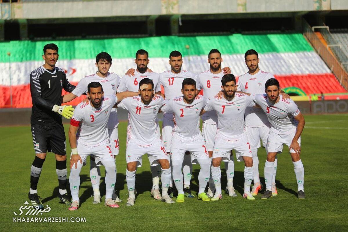 سقوط تیم ملی ایران در رنکینگ جهانی