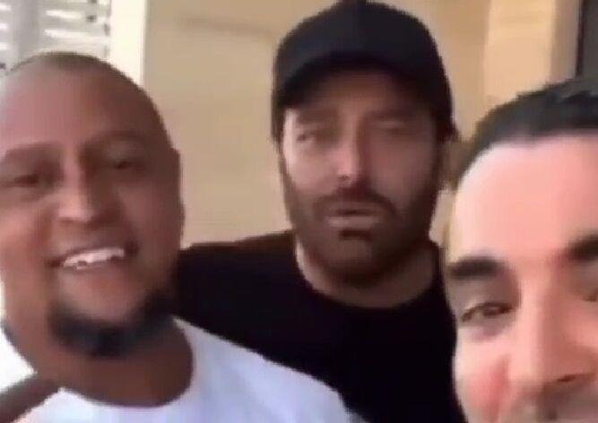 ویدیو| وقتی ستاره سینمای ایران از ستاره فوتبال برزیل والیبالیست میسازد