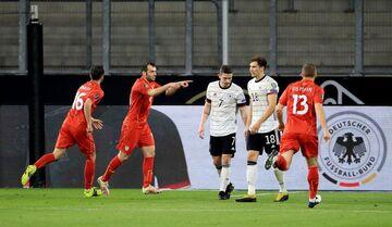 ویدیو| خلاصه بازی آلمان ۱-۲ مقدونیه