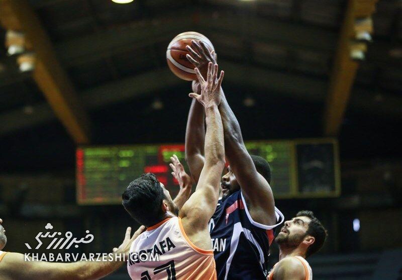 نخستین بازی نیمه نهایی لیگ برتر بسکتبال را شهرداری گرگان برد