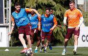ویدیو  آخرین تمرین رئال مادرید پیش از دیدار با لیورپول