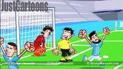 ویدیو| روایت کارتونی از پیروزی منچسترسیتی مقابل دورتموند