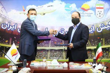 این هم از هواپیمای اختصاصی تیم ملی ایران