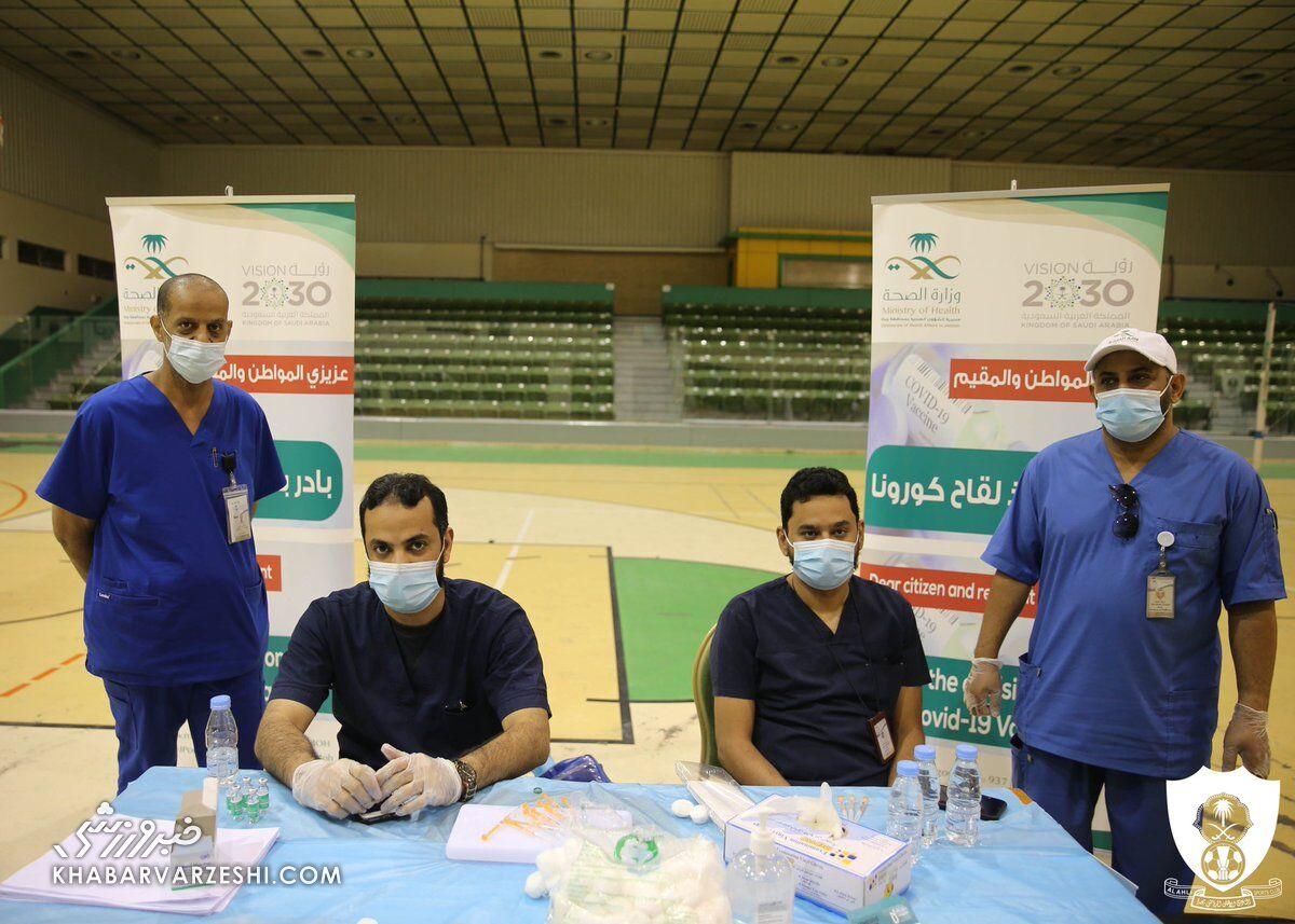 آغاز واکسیناسیون کرونا در اردوی حریف آسیایی استقلال