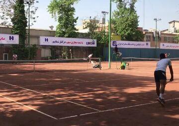 ویدیو| برگزاری مسابقات انتخابی تیم ملی تنیس