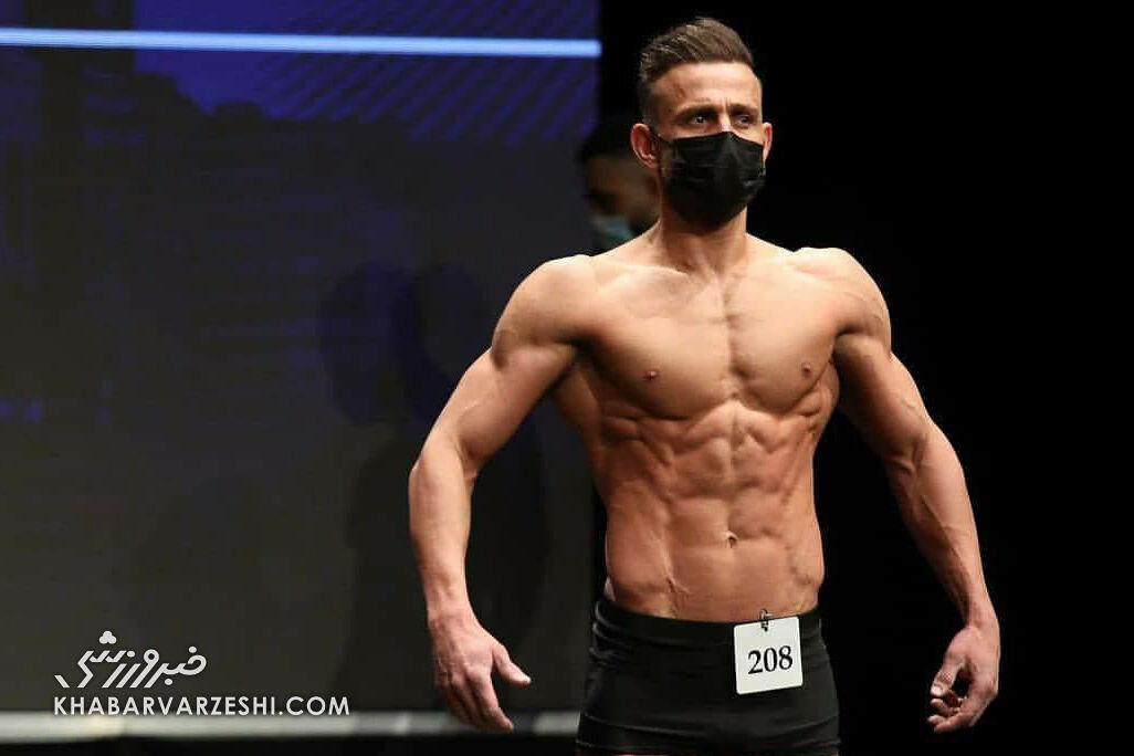 نایب قهرمانی مهاجم سابق پرسپولیس در فیتنس/ تصاویر شگفت انگیز از عضلات آقای گل