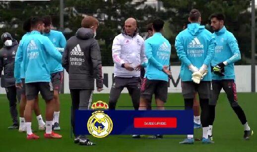 ویدیو| آخرین تمرین بازیکنان رئال مادرید پیش از ال کلاسیکو