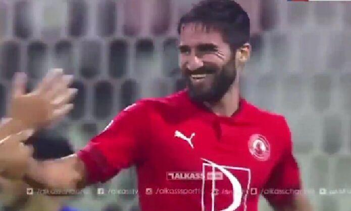 ویدیو| هتتریک مهرداد محمدی مقابل السیلیه