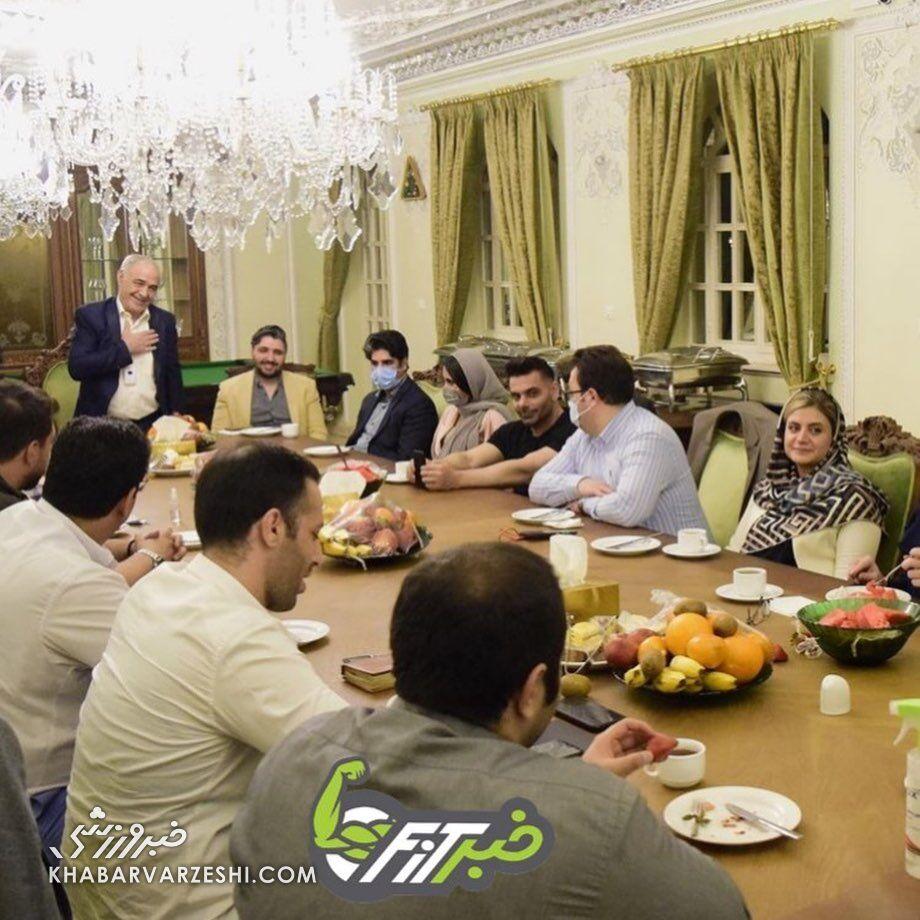 دیدار رئیس فدراسیون بین المللی پرورش اندام با مقامات ایرانی