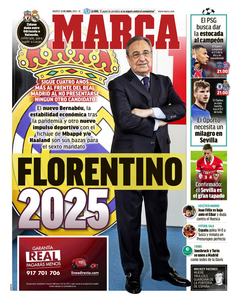 روزنامه مارکا| فلورنتینو ۲۰۲۵