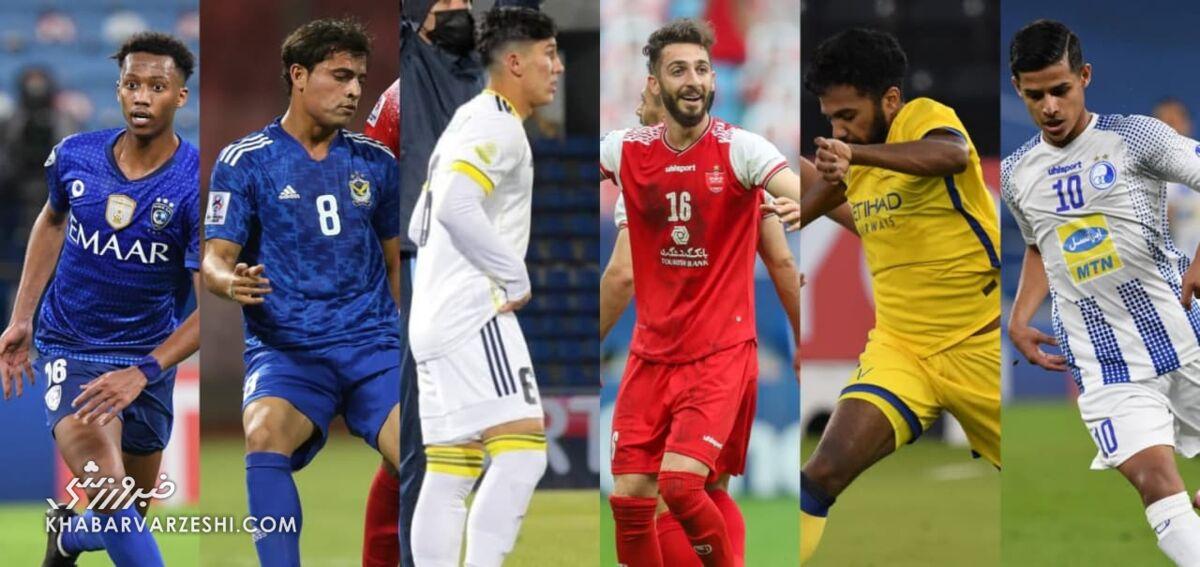 دو ستاره ایرانی لیگ قهرمانان آسیا از نگاه AFC