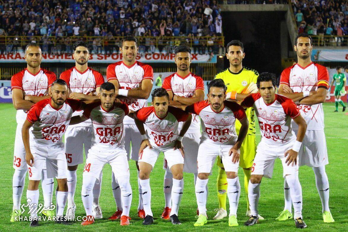 عکس| باشگاه لیگ یکی در آستانه انصراف از لیگ آزادگان