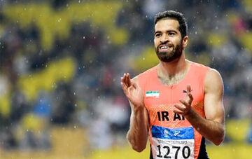 سریع ترین مرد ایران به فرانسه اعزام شد