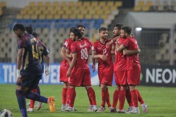 گزارش تصویری  اولین برد آسیایی پرسپولیس با گل سیدجلال