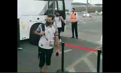 ویدیو| ورود کاروان تیم تراکتور به استادیوم