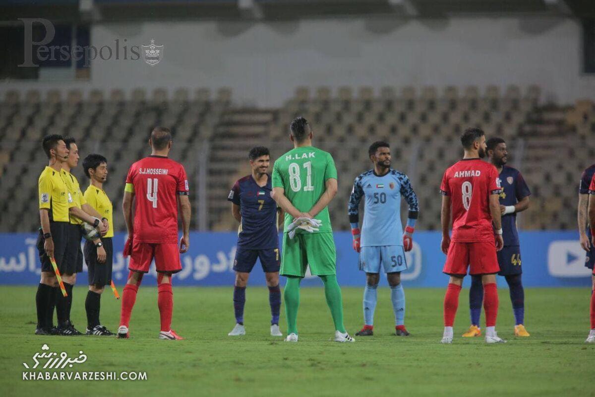 غیبت مغز متفکر الوحده مقابل پرسپولیس/ فرصتی طلایی برای نماینده امارات
