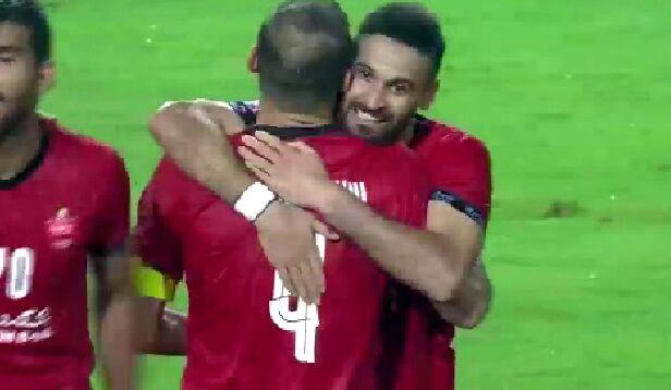ویدیو| گل اول پرسپولیس الوحده توسط سیدجلال حسینی