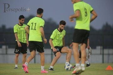 گزارش تصویری  تمرین پرسپولیس زیر نور و بدون بازیکنان اصلی