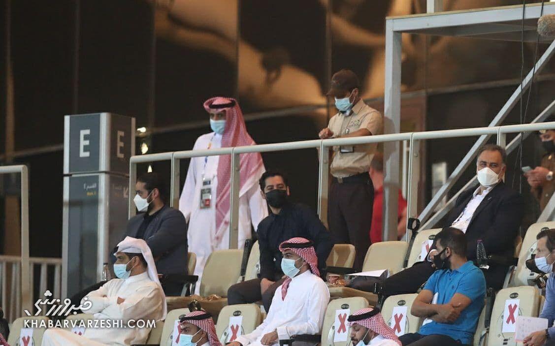مددی: در تهران یا دبی با الهلال بازی میکنیم
