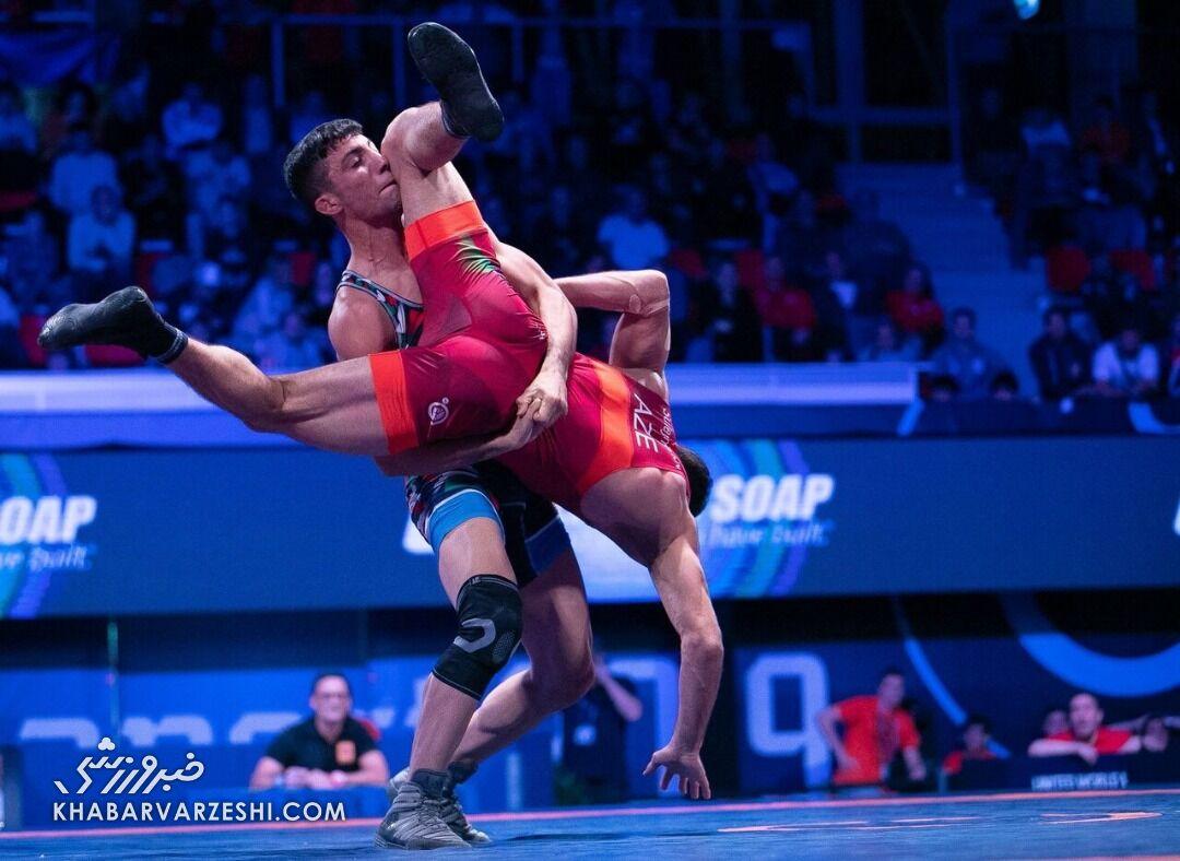 قهرمانیقاره، دیدار تدارکاتیِ یزدانی قهرمان المپیک و جهان