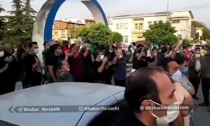 ویدیو| حال و هوای اطراف بیمارستان رازی قائمشهر پس از فوت نادر دست نشان