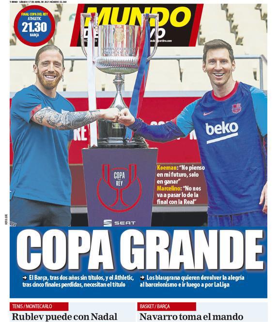 روزنامه موندو| جام بزرگ