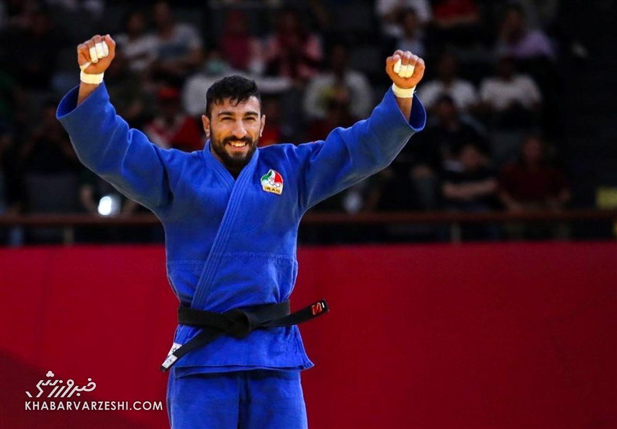 کسب اولین سهمیه المپیکی جودو ایران