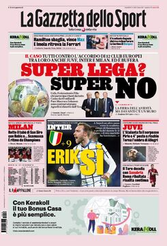 روزنامه گاتزتا| سوپرلیگ؟ سوپر نه