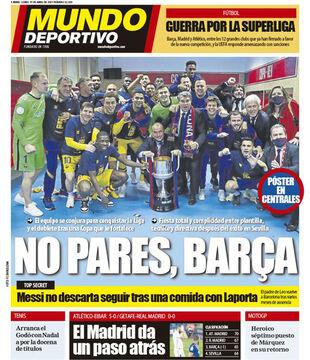 روزنامه موندو| بارسلونا متوقف نمیشود