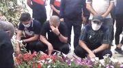 ویدیو| حضور اعضای باشگاه نساجی بر مزار نادر دستنشان